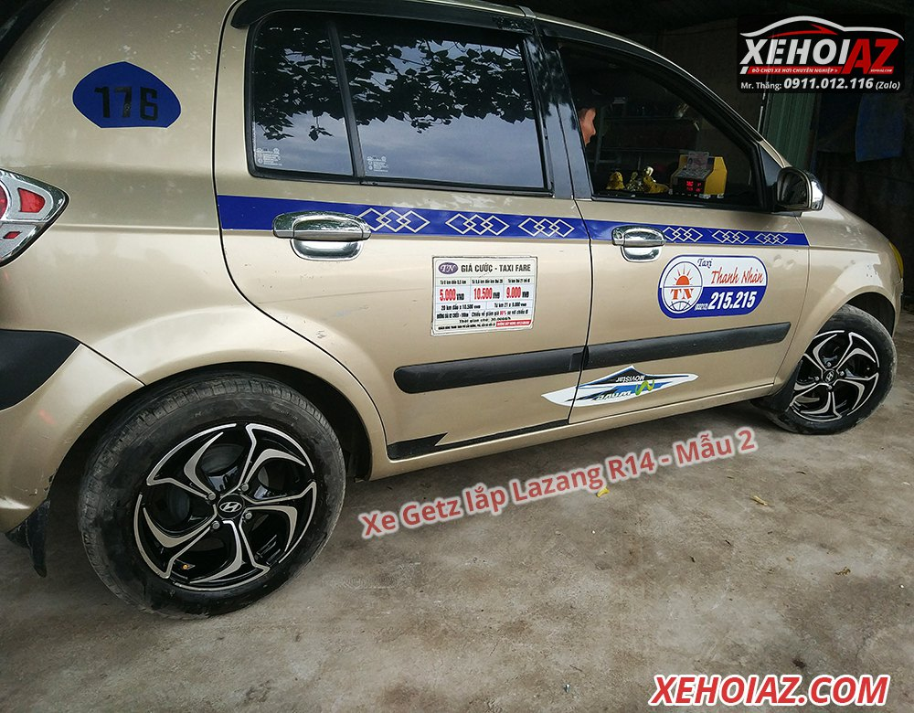 02 1 - Bộ lazang ô tô 14 inch cao cấp Morning, Vios, i10, Getz, Gentra..v.v.