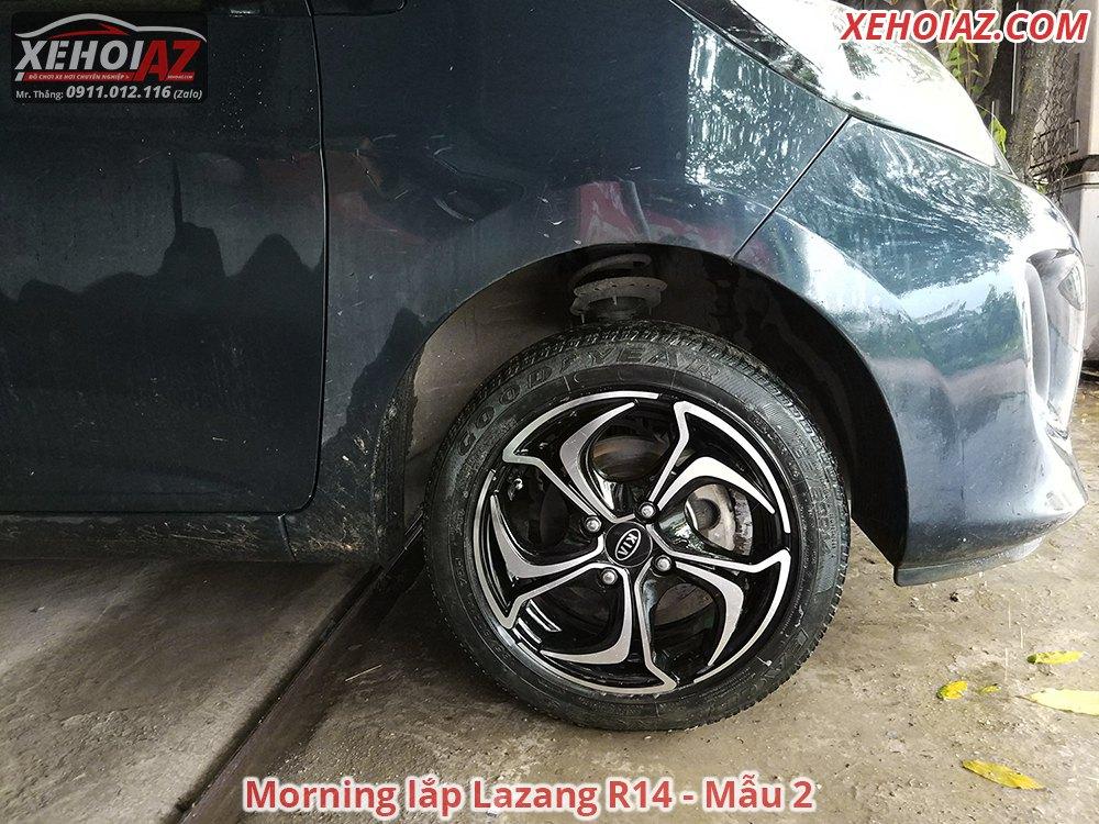 02 3 - Bộ lazang ô tô 14 inch cao cấp Morning, Vios, i10, Getz, Gentra..v.v.