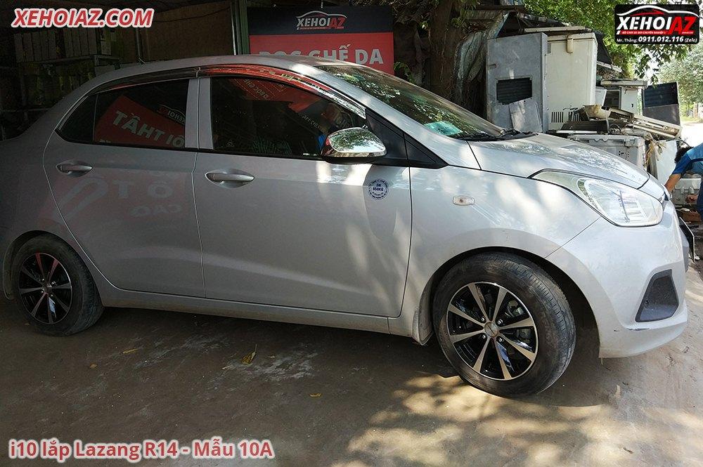 10A 1 - Bộ lazang ô tô 14 inch cao cấp Morning, Vios, i10, Getz, Gentra..v.v.