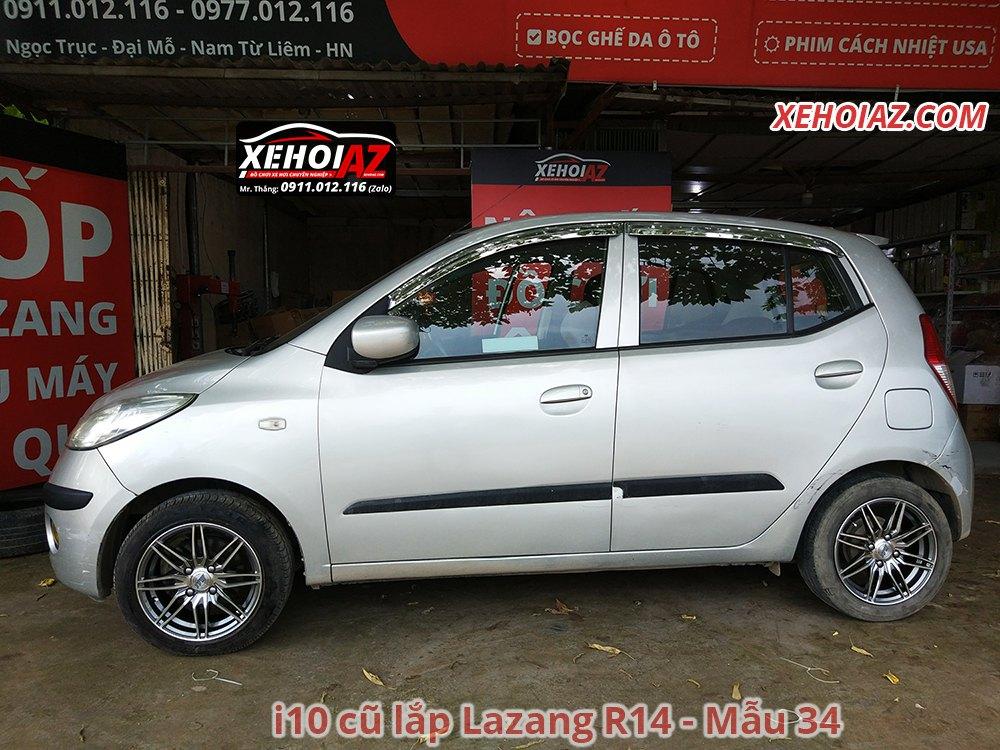 34 - Bộ lazang ô tô 14 inch cao cấp Morning, Vios, i10, Getz, Gentra..v.v.