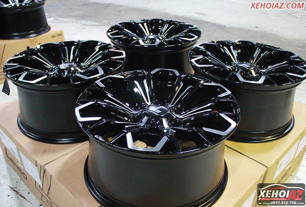 Mâm đúc LENSO Thái Lan18 inch độ cho xe bán tải và xe SUV - AZ PICKUP V.5 - Hình 02