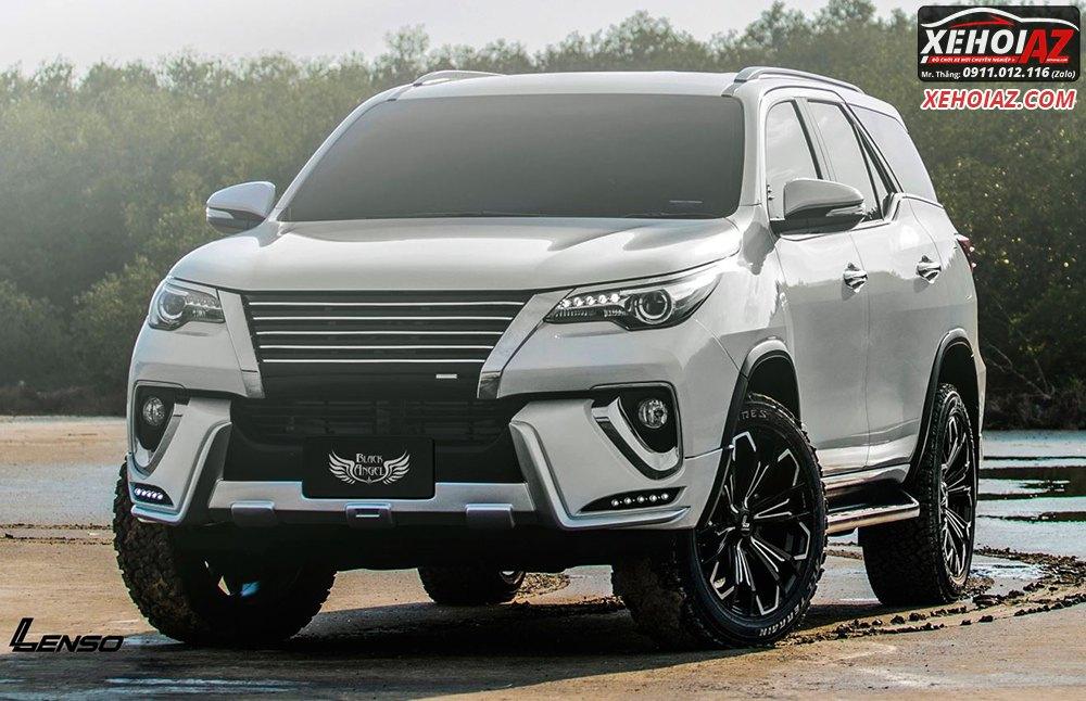 Mâm đúc LENSO Thái Lan 18 inch độ cho xe bán tải và xe SUV - AZ PICKUP V.5 - Hình 03