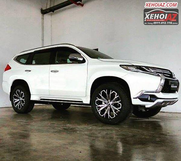 Mâm đúc LENSO Thái Lan 18 inch độ cho xe bán tải và xe SUV - AZ PICKUP V.5 - Hình 05