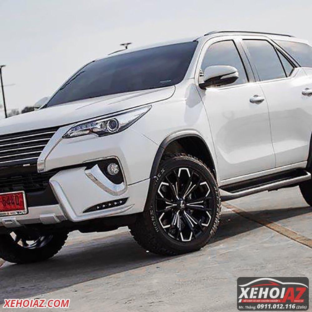 Mâm đúc LENSO Thái Lan 18 inch độ cho xe bán tải và xe SUV - AZ PICKUP V.5 - Hình 06