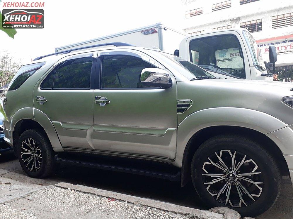 Mâm đúc LENSO Thái Lan 18 inch độ cho xe bán tải và xe SUV - AZ PICKUP V.5 - Hình 08
