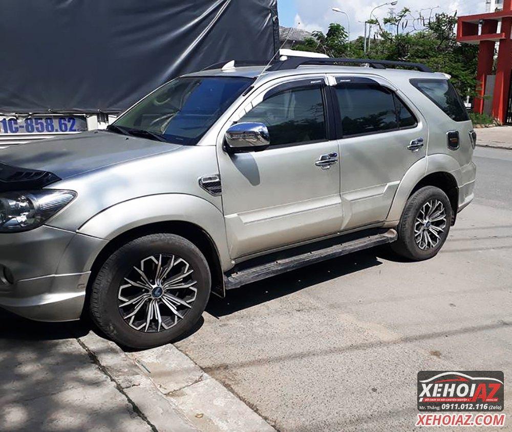 Mâm đúc LENSO Thái Lan 18 inch độ cho xe bán tải và xe SUV - AZ PICKUP V.5 - Hình 09