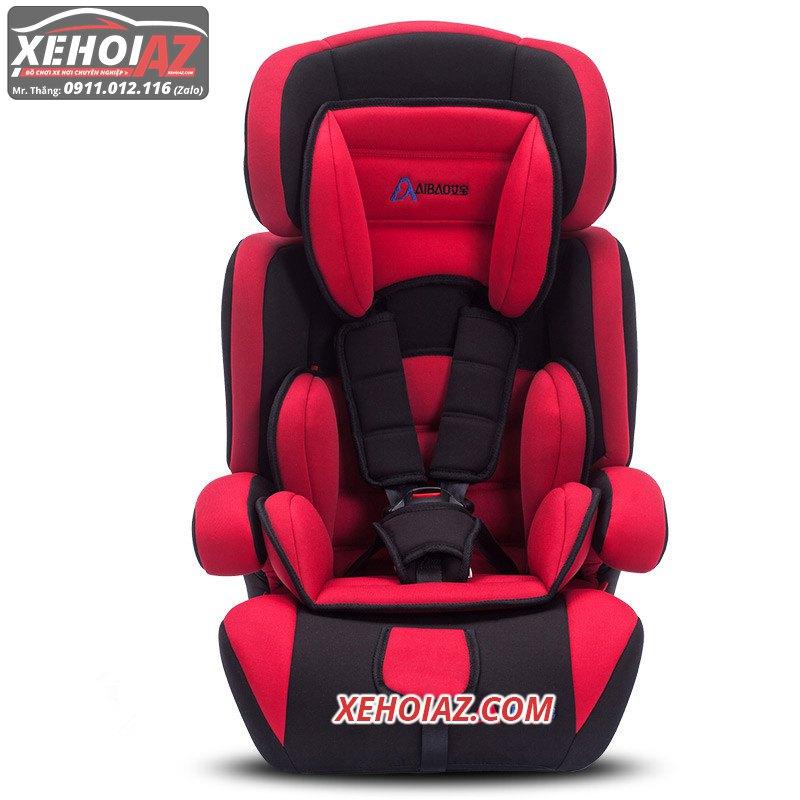 Ghế ngồi ô tô cho bé –mẫu AZ-01 –Mầu đỏ đen
