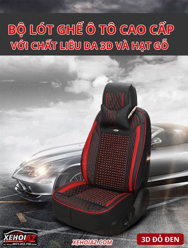lót ghế ô tô cao cấp bằng da - Mẫu AZ-03