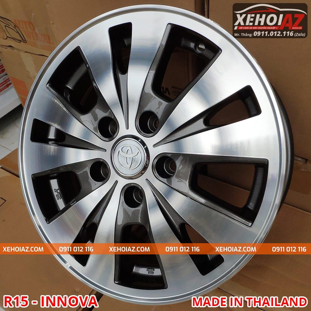 lazang oto innova 15 inch 02 - Lazang oto 15 inch theo xe innnova 2015 (Hàng Thailand)