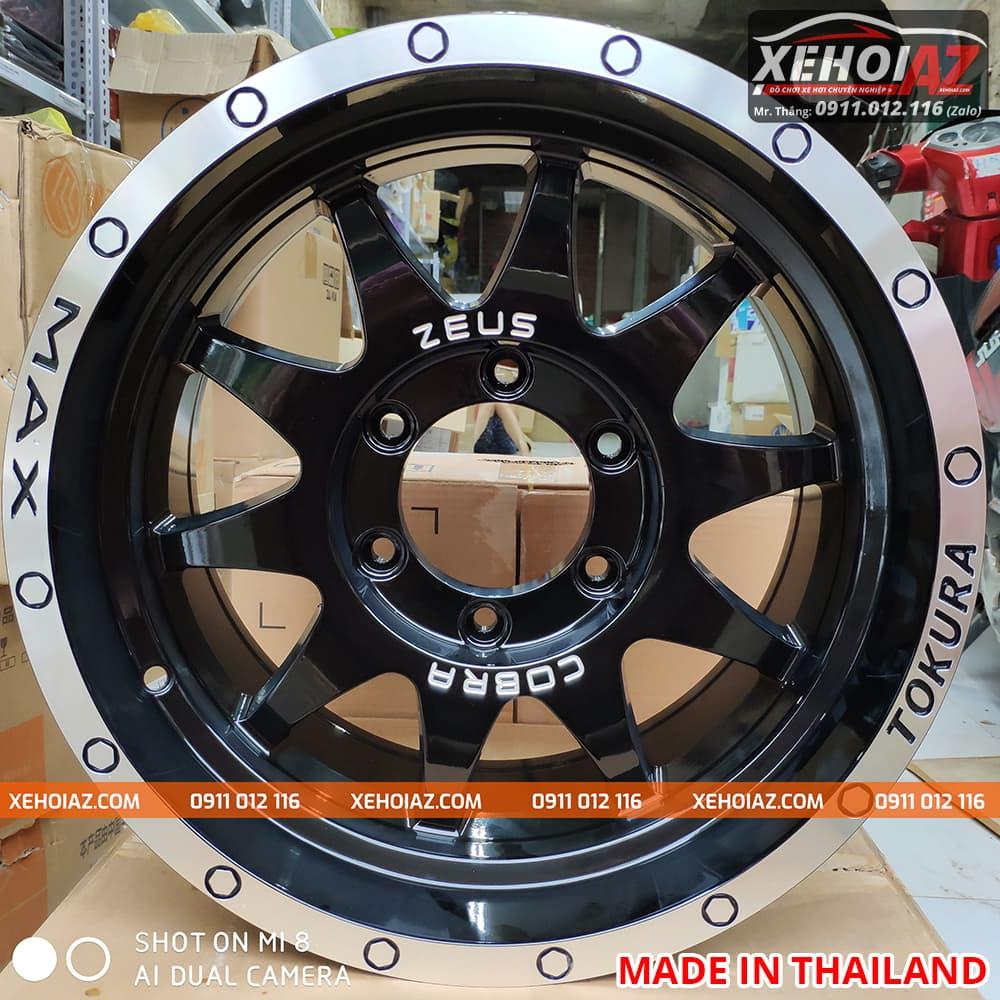 lazang oto 16 inch xe ban tai bw 19 02 - Lazang ô tô 16 inch 6 lỗ lắp cho xe bán tải Mẫu BW-19 (Hàng Thái Lan)