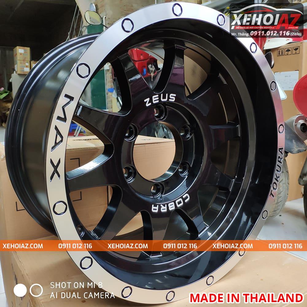 lazang oto 16 inch xe ban tai bw 19 03 - Lazang ô tô 16 inch 6 lỗ lắp cho xe bán tải Mẫu BW-19 (Hàng Thái Lan)