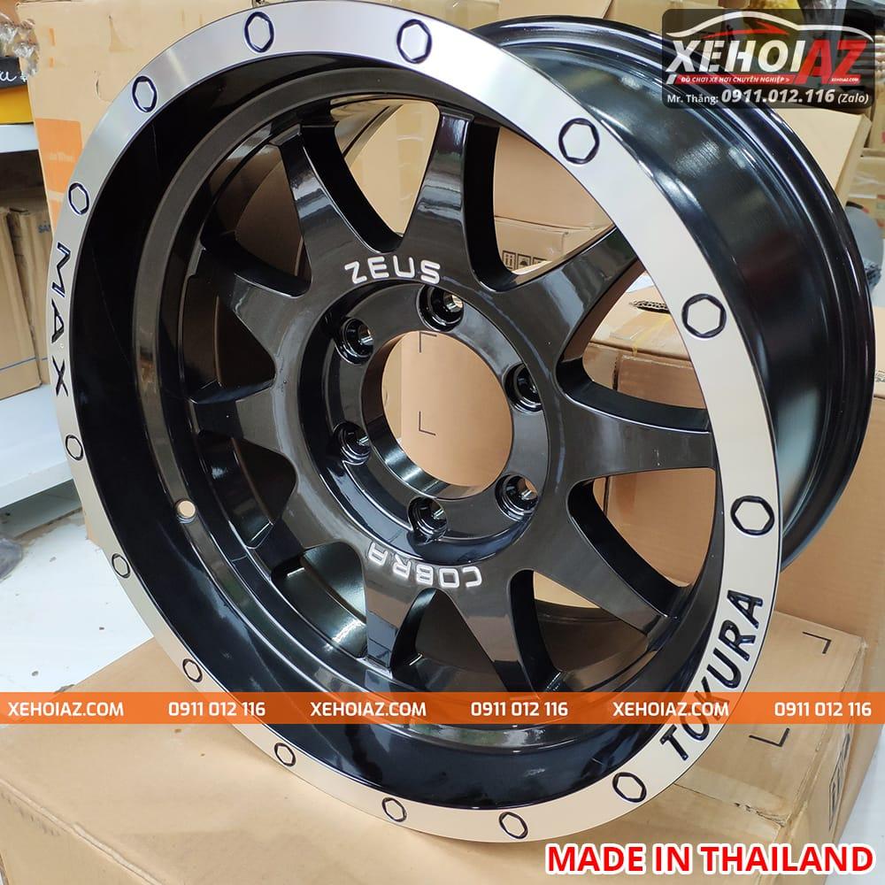 lazang oto 16 inch xe ban tai bw 19 04 - Lazang ô tô 16 inch 6 lỗ lắp cho xe bán tải Mẫu BW-19 (Hàng Thái Lan)