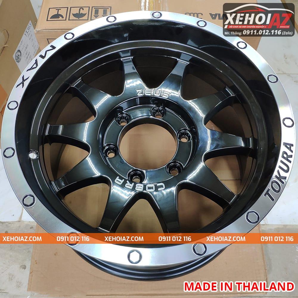 lazang oto 16 inch xe ban tai bw 19 05 - Lazang ô tô 16 inch 6 lỗ lắp cho xe bán tải Mẫu BW-19 (Hàng Thái Lan)